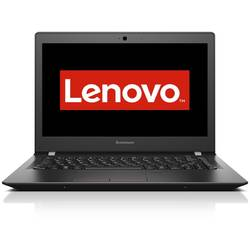 Laptop Lenovo E31-80, 13.3'' FHD IPS, Intel Core i5-6200U 2.3GHz Skylake, 4GB, 500GB + 8GB SSH, GMA HD 520, FingerPrint Reader, FreeDos, Black