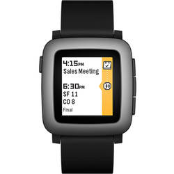 Smartwatch Pebble TIME 501-00020 Negru