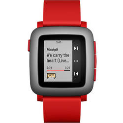 Smartwatch Pebble TIME 501-00022 Rosu