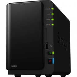 Network Attached Storage Synology DS216
