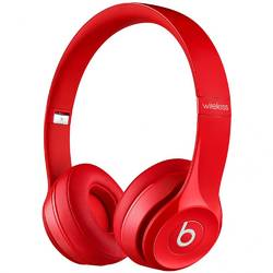 Casti audio cu banda Beats by Dr. Dre Solo 2, Wireless, Rosu