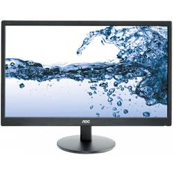 "Monitor AOC 21.5"" LED E2270SWHN, 1920x1080, 5 ms, HDMI, black"
