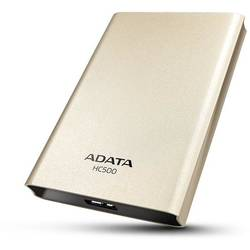 "Hard disk extern ADATA Choice HC500 500GB 2.5"" USB 3.0 Gold"