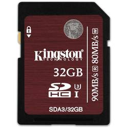 Card memorie Kingston SDHC 32GB Clasa 10 UHS-I U3
