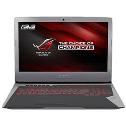 Laptop ASUS Gaming ROG G752VT, 17.3'' FHD, Intel Core i7-6700HQ 2.6GHz Skylake, 32GB, 1TB 7200 RPM + 256GB SSD, GeForce GTX 970M 3GB, Windows 10