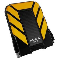Hard disk extern Adata DashDrive HD710 2TB USB3 Yellow, Waterproof & Shockproof