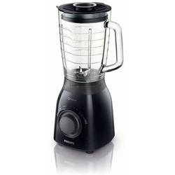 Philips Resigilat Blender Viva Collection HR2173/90, 2 viteze + impuls, 600W, 1.5l, negru/gri