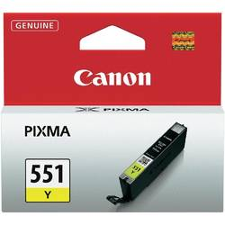 Canon Cartus CLI-551 Yellow ink tank pentru IP7250/ MG5450/ MG6350 BS6511B001AA