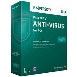 Kaspersky Anti-Virus 2014 Multi-Device Electronic Renewal, 1 AN - licenta valabila pentru 1 calculator