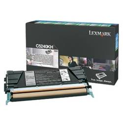 Lexmark toner pt C524, C534 Black High Yield Return Program Toner Cartridge - 8,000 pages