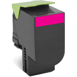 Lexmark 802SM Magenta Standard Yield Return Program Toner Cartridge
