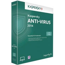 Kaspersky Anti-Virus 2014 Multi-Device Electronica, 1 AN - licenta valabila pentru 1 calculator