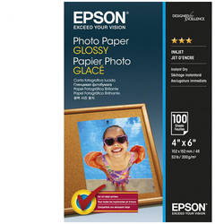 "EPSON S042548, PHOTO PAPER GLOSSY 4x6 "" 100 SHEETS, C13S042548"