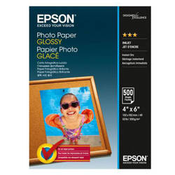 "EPSON S042549, PHOTO PAPER GLOSSY 4x6 "" 500 SHEETS, C13S042549"
