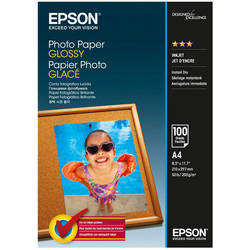 EPSON S042540, PHOTO PAPER GLOSSY A4 100 SHEETS, C13S042540
