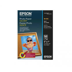 "EPSON S042545, PHOTO PAPER GLOSSY 5x7 "" 50 SHEETS, C13S042545"