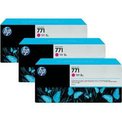 HP Cartus B6Y33A INK 771C 3/PK 775-ML MAGENTA