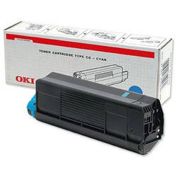OKI TONER CYAN CARTRIDGE FOR C3100 3K