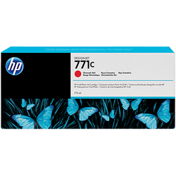 Toner HP B6Y08A INK 771C 775ML CHROMATIC RED
