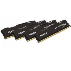 KINGSTON Memorie 16GB DDR4 2666MHz (Kit of 4)HyperX FURY Black Series