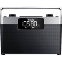 Philips Radio portabil AE2430/12, LCD display, 1W RMS, negru