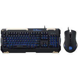 Thermaltake Kit Tt eSPORTS COMMANDER Gaming Gear Combo, tastatura semi mecanica