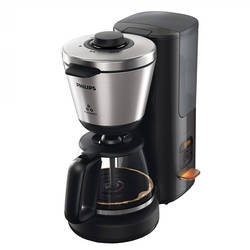 Philips Cafetiera Intense HD7696/90, 1000 W, 1.2 l, sistem anti-picurare, negru/inox