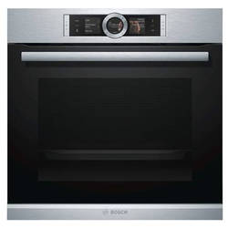 Bosch Cuptor multifunctional HBG6764S1, 13 functii, display, DishAssist, BakingSensor, childlock