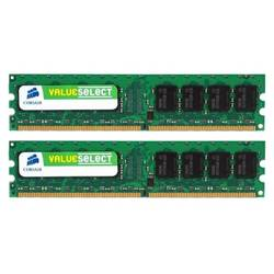 Memorie Corsair, KIT 2x2 DDR2, 4Gb, 667Mhz VS4GBKIT667D2