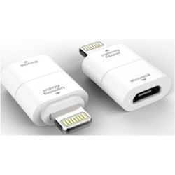 Kit Adaptor incarcare microUSB - Lightning MILIADPWH White