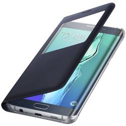 Husa S-View Cover Blue Black EF-CG928PBEGWW pentru Samsung Galaxy S6 Edge + G928