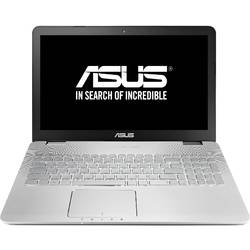 Laptop ASUS N551JX-CN298D, 15.6'' FHD, Procesor Intel Core i7-4750HQ 2.0GHz Crystal Well, 8GB, 1TB + 24GB SSD, GeForce GTX 950M 4GB, FreeDos, Grey