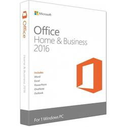 Microsoft Office 2016 Home and Business, 32/64bit, Limba Romana, FPP, Retail