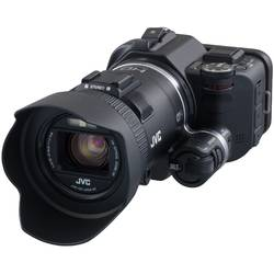 Camera video JVC GC-PX100V, Full HD, Wi-Fi, Black