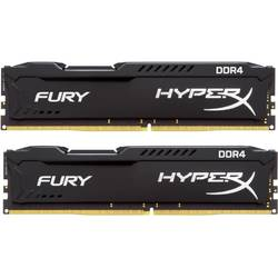 Memorie RAM Kingston, DIMM, DDR4, 8GB, 2133MHz, CL14, Kit 2x4GB, HyperX FURY Black Series, 1.2V
