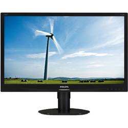"Monitor LED Philips 231S4QCB/00 23"" 7ms black"
