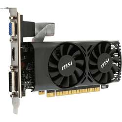 Placa video MSI GeForce GTX 750 Ti 2GB DDR5 128-bit Low Profile