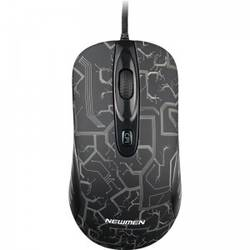 Mouse gaming Newmen GX1-R Black