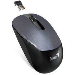 Mouse Genius wireless, optic, NX-7015, 800,1200,1600dpi, Iron grey Metallic, 2.4GHz, USB