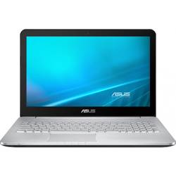"Laptop ASUS N552VX-FY024D, 15.6"" FHD, Intel Core i7-6700HQ, up to 3.50 GHz, 8GB, 1TB, GeForce GTX 950M 4GB, FreeDos, Grey"