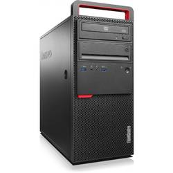 Sistem Desktop Lenovo ThinkCenter M800 TWR, Procesor Intel Core i5-6500 3.2GHz Skylake, 8GB DDR4, 1TB HDD, GMA HD 530, Win 7 Pro + Win 10 Pro