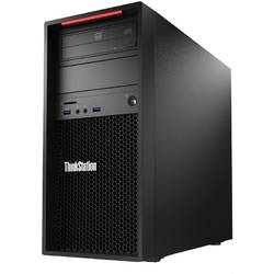 Sistem Desktop Lenovo ThinkStation P300 Tower, Procesor Intel Xeon E3-1226 v3 3.3GHz Haswell, 8GB DDR3, 1TB + 8GB SSH, GMA HD P4600, Win 7 Pro + Win 8.1 Pro, 450W