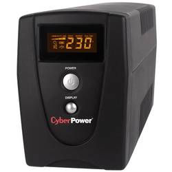 Cyber Power UPS 800VA, AVR, LCD Display VALUE800ELCD