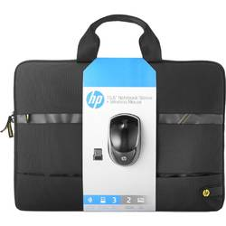 "Geanta Laptop HP Wi-Fi Essentials Kit, 15.6"", Black"