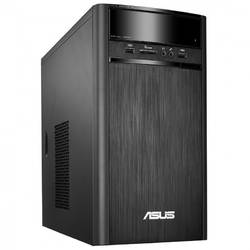 Sistem Desktop ASUSK31AN-RO005D Tower, Procesor Quad Core Intel Pentium J2900 2.41GHz Bay Trail, 4GB, 1TB, GMA HD, FreeDos, Black