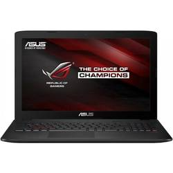 "Laptop ASUS ROG GL552VX-CN062D, 15.6"" FHD, Procesor Intel Core i7-6700HQ, up to 3.50 GHz, 32GB DDR4, 1TB + 128GB SSD, GeForce GTX 950M 4GB, FreeDos, Grey, carcasa metal"