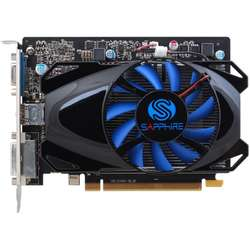Placa video Sapphire Radeon R7 250 512SP Edition, 2GB GDDR5 (128 Bit), HDMI, DVI, VGA, BULK
