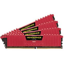 Memorie Corsair DDR4 Vengeance LPX Red 16GB (4x4GB) 2133MHz CL13 1.2V