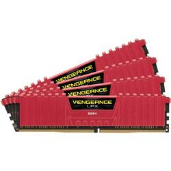 Memorie Corsair Vengeance LPX Red 4x4GB 2800MHz DDR4 CL16 1.2V, DIMM