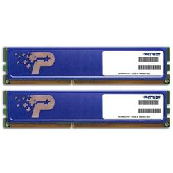 Memorie DDR3 Patriot 8GB (2x4GB) 1333MHz CL9, Radiator